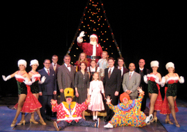 the Miracle on 34th Street ensemble