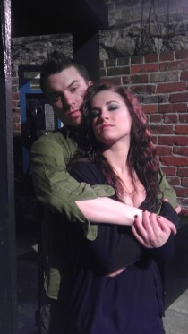 Chris Causer and Kelly Lohrenz in Rent