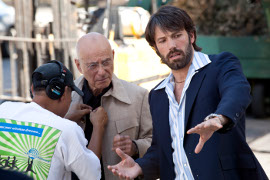 Ben Affleck directing Alan Arkin in Argo