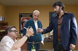 John Goodman, Alan Arkin, and Ben Affleck in Argo