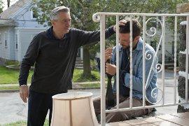 Robert De Niro and Bradley Cooper in Silver Linings Playbook