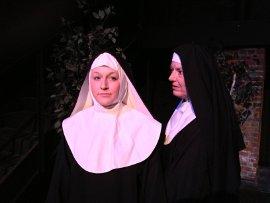 Cara Chumbley and Susan Perrin-Sallak in Doubt