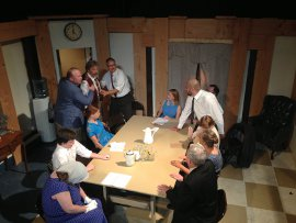 the District Theatre's 12 Angry Men ensemble