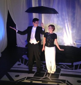 Bryan Tank and Victoria-Rose Viren in Let's Face the Music: A New Musical Revue
