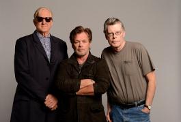T Bone Burnett, John Mellencamp, and Stephen King
