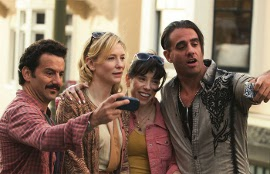 Max Casella, Cate Blanchett, Sally Hawkins, and Bobby Cannavale in Blue Jasmine