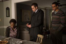 Viola Davis, Jake Gyllenhaal, and Terrence Howard in Prisoners