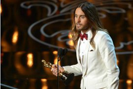 Best Supporting Actor Jared Leto