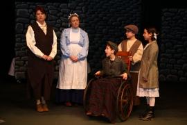 Patti Flaherty, Krissy Wheeler, Jack Sellers, Ben Klocke, and Emma Terronez in The Secret Garden