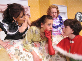 Miranda Jane, Tamarin K. Lawler, Rachelle Walljasper, and Lora Adams in Always a Bridesmaid