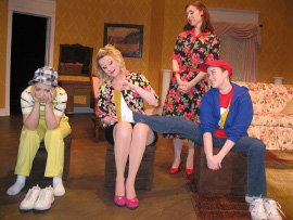 Stacy Phipps, Cara Chumbley, Andrea Moore, and Morgan Griffin in Tales of a Fourth Grade Nothing