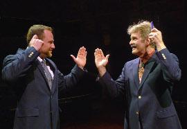 Jeff Utsinger and Tom Naab in The Last Romance