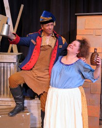 Kevin Pieper and K. C. Griesenbeck in Les Miserables