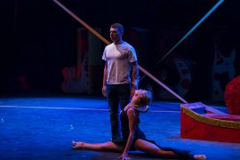Gabriel Brown and Lexie Plath in Joseph & the Amazing Technicolor Dreamcoat