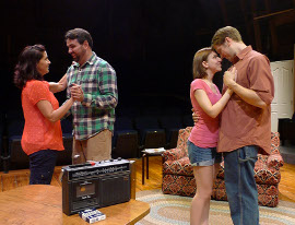 Dianna McKune, Nathan Johnson, Jo Vasquez, and Victor Angelo in The Melville Boys