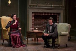 Danielle Brothers and Cody Jolly in An Inspector Calls