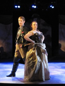Nathan McHenry and Heather Baisley in Annie Get Your Gun