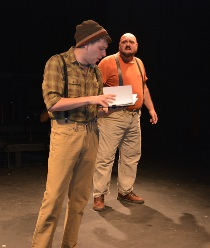 Nathan Klaus and James Palagi in Doctor Faustus