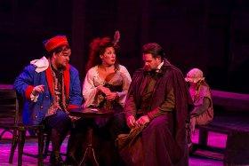Matt Webb, Analisha Santini, Jason Kraack, and Lily Leding in Les Miserables