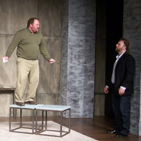Aaron Randolph III and Adam Michael Lewis in 'Art'