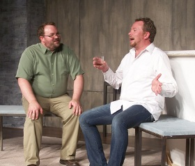Aaron Randolph III and Mike Schulz in 'Art'