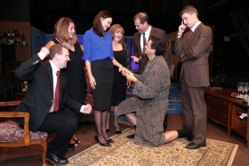 Eric Landuyt, Jamie Bauschka, Melissa Hummel, Terri Nelson, Shawn Sutton, David Lane, and Victor Angelo in Marrying Terry