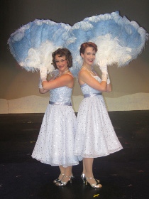 Sara Tubbs and Erin Churchill in Irving Berlin's White Christmas