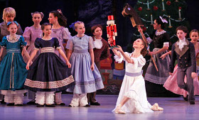 Ballet Quad Cities' The Nutcracker, at the Adler Theatre