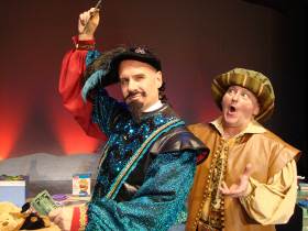 Brad Hauskins and Janos Horvath in 'Twas the Night Before Christmas