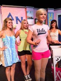 Autumn Loose, Liv Lyman, Lauren VanSpeybroeck, and Becca Meumann Johnson in Legally Blonde: The Musical