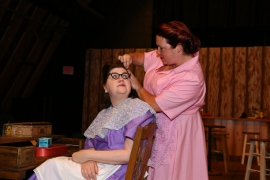 Donna R. Weeks and Heather Nobiling in Second Samuel