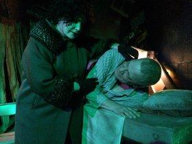 Nancy Teerlinck and Pat Flaherty in Angels in America: Perestroika