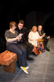 Bailey Hager, Jordan Smith, Lisa Kahn, and Scott Tunnicliff in The 13th of Paris