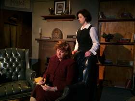 Patti Flaherty and Mollie McLaughlin in The Mousetrap