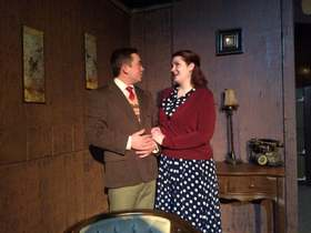 Aaron Lord and Kat Martin in The Mousetrap