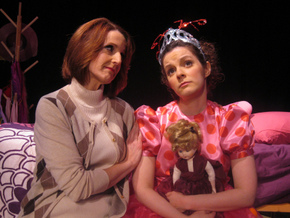 Deborah Kennedy and Kaitlyn Casanova in Fancy Nancy: The Musical