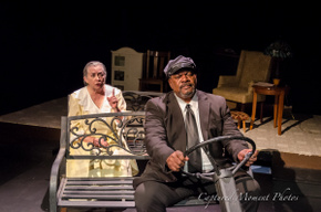Rae Mary and Fred Harris Jr. in Driving Miss Daisy