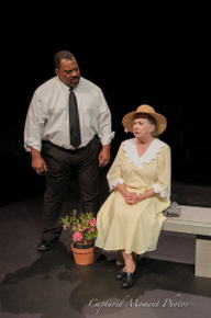 Fred Harris Jr. and Rae Mary in Driving Miss Daisy