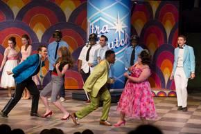 Sam Leicht, Rosie Upton, Eli Emmit, and Amelia Jo Parish in Hairspray