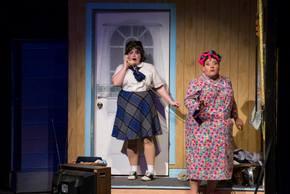 Amelia Jo Parish and Tommy Bullington in Hairspray