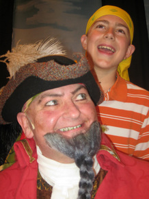 Janos Horvath and Ben Klocke in How I Became a Pirate