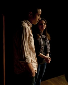 Calvin Vo and Jessica Denney in Tribes