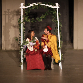 Chelsie Ward and Neil Tunnicliff in The Merry Wives of Windsor