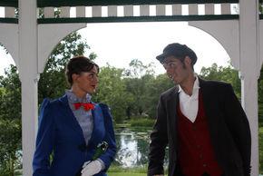 Heather Herkelman and John Whitson in Mary Poppins
