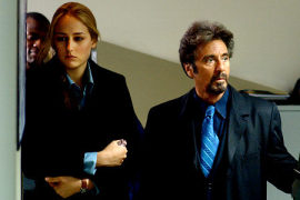 Leelee Sobieski and Al Pacino in 88 Minutes