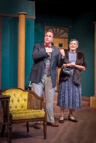 Mike Kelly and Susan Perrin-Sallak in Harvey