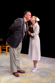 Mike Kelly and Stephanie Moeller in Harvey