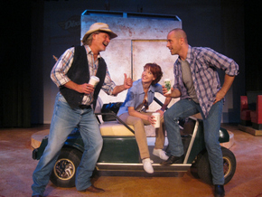 Paul G. Nelson, Erin Churchill, and Kenton Fridley in Route 66