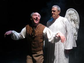 Tom Walljasper and Pah Flaherty in A Wonderful Life