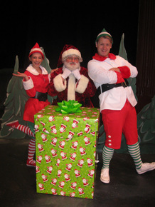 Cydney Roelandt, Janos Horvath, and Sheldon Rogers in The Most Famous Reindeer of All